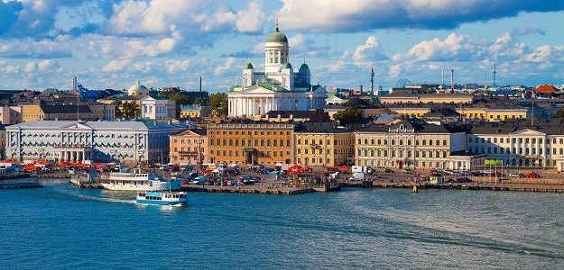 Helsinki, Estonija i Latvija
